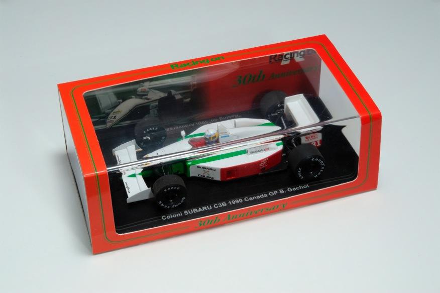 Racing on(レーシングオン)別注 スパーク 1/43 コローニ・スバルC3B B.ガショー 1990年 カナダGP
