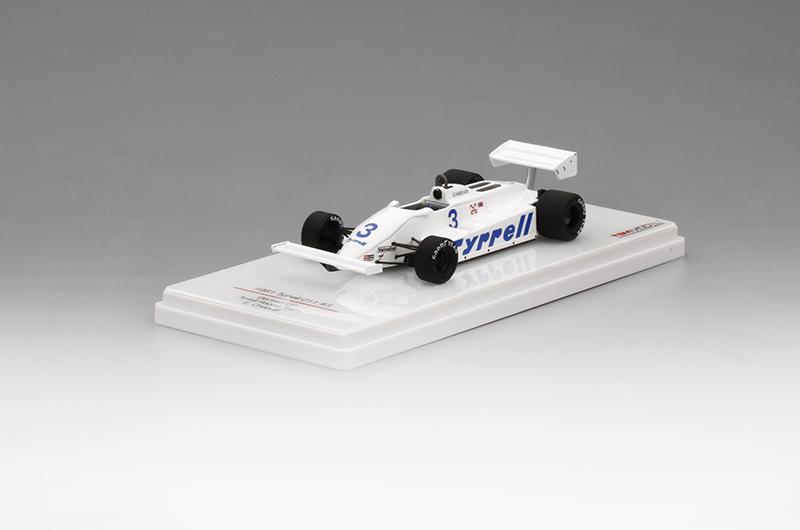 トゥルースケール 1/43 ティレル 011 E.チーバー ティレルレーシングチーム 1981年ドイツGP NO.3