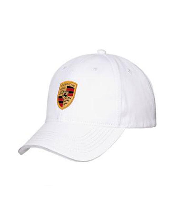 Porsche(ポルシェ)クレストロゴキャップ ホワイト