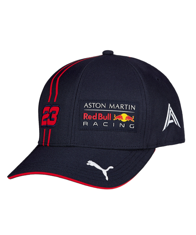 2020 PUMA ASTON MARTIN REDBULL RACING レッドブル・ホンダ A.アルボン ドライバーズキャップ ベースボールタイプ