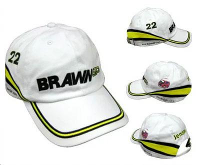 【デットストック品】ブラウンGP 2009 J.バトン ドライバーキャップ(ヘンリーロイド製)
