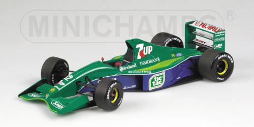 【並行輸入品】ミニチャンプス 1/18 ジョーダン 191 M.シューマッハ 1991年ベルギーGP ノンドライバー仕様
