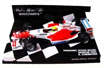 ミニチャンプス 1/43 TOYOTA(トヨタ) F1 2005ショーカー ラルフ