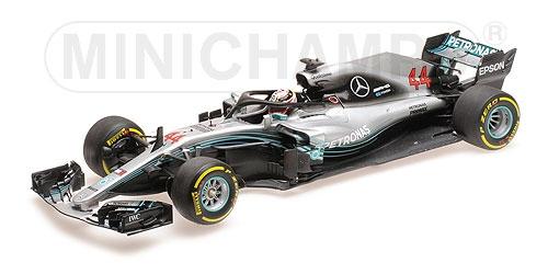 【再入荷】ミニチャンプス 1/18 メルセデス F1チーム W09 L.ハミルトン 2018