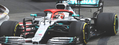 ミニチャンプス 1/18 メルセデス W10 L.ハミルトン 2019年モナコGP優勝