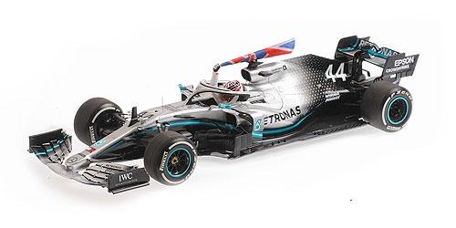 ミニチャンプス 1/18 メルセデス W10 L.ハミルトン 2019年イギリスGP優勝