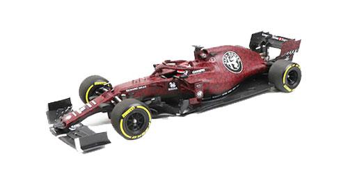 1/18 アルファロメオ F1 C38 K.ライコネン フィオラノ シェイクダウン 2019年2月14日