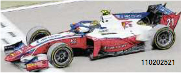 【2021年6月以降順次発売予定ご予約商品3/7締切】ミニチャンプス 110202521 1/18 ダラーラ F2 ロバート・シュワルツマン スプリントレース ベルギーGP 2020 ウィナー 予価:税込¥26400