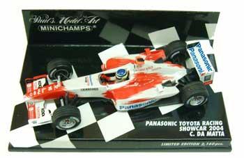 ミニチャンプス 1/43 TOYOTA(トヨタ) F1 2004年ショーカー ダマッタ