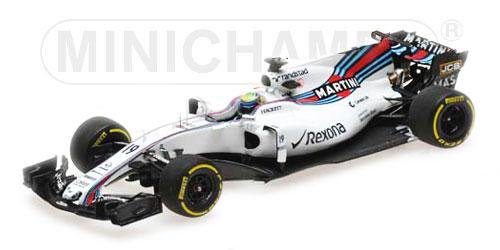 ミニチャンプス 1/18 ウィリアムズ FW40 F.マッサ 2017年オーストラリアGP