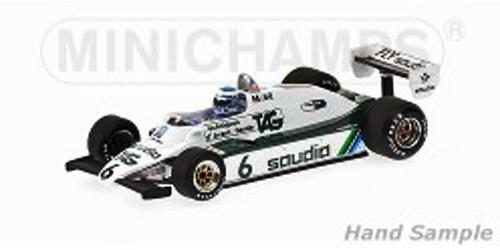 【ミニカーフェア対象】ミニチャンプス 1/18 ウィリアムズ FW08 K.ロズベルグ 1982年ワールドチャンピオン