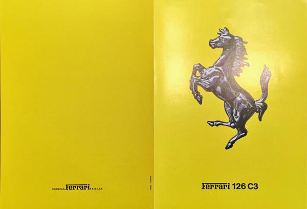 1983年 FERRARI(フェラーリ) 126 C3 F1マシンスペックカタログ