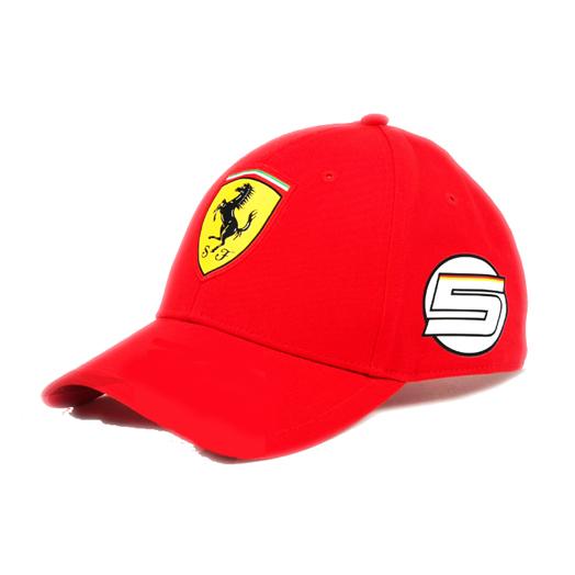 フェラーリ 2017 S.ベッテル SF キャップ