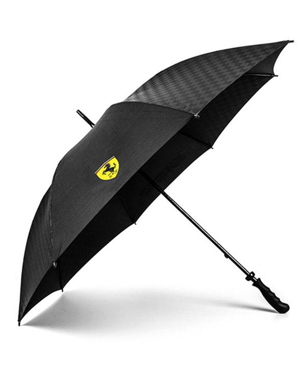 2018SS フェラーリ SF ゴルフアンブレラ(傘) ブラック サイズ:96cm