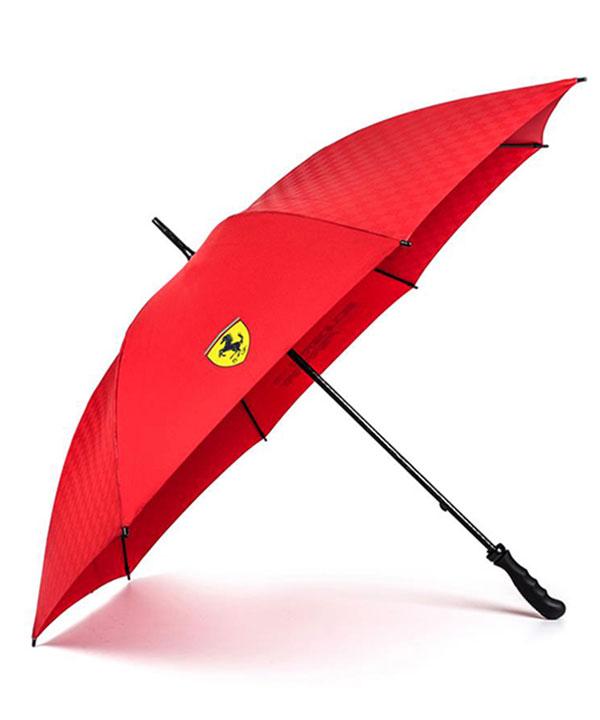 2018SS フェラーリ SF ゴルフアンブレラ(傘) レッド サイズ:96cm