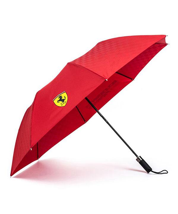 【再入荷】フェラーリ SF コンパクトアンブレラ(折りたたみ傘) レッド サイズ:44cm