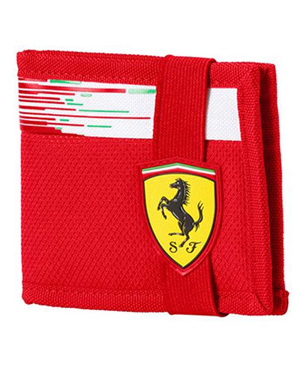 PUMA FERRARI 2018SS フェラーリ チームレプリカ ウォレット(財布)