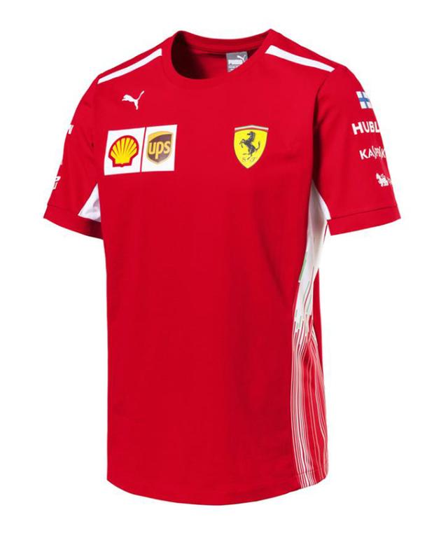 PUMA FERRARI 2018SS フェラーリ SF チームレプリカ Tシャツ ドライバーズver(K.ライコネンver)