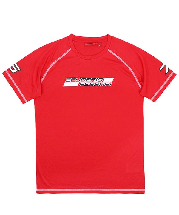 【SALE】フェラーリ × 鈴鹿サーキット 2016コラボレーション限定Tシャツ レッド