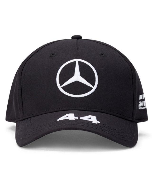 2021-2020(継続商品)MERCEDES メルセデスF1 チーム L.ハミルトン ドライバーズキャップ(ベースボール)ブラック