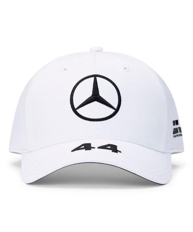 2021-2020(継続商品)MERCEDES メルセデスF1 チーム L.ハミルトン ドライバーズキャップ(ベースボール)ホワイト
