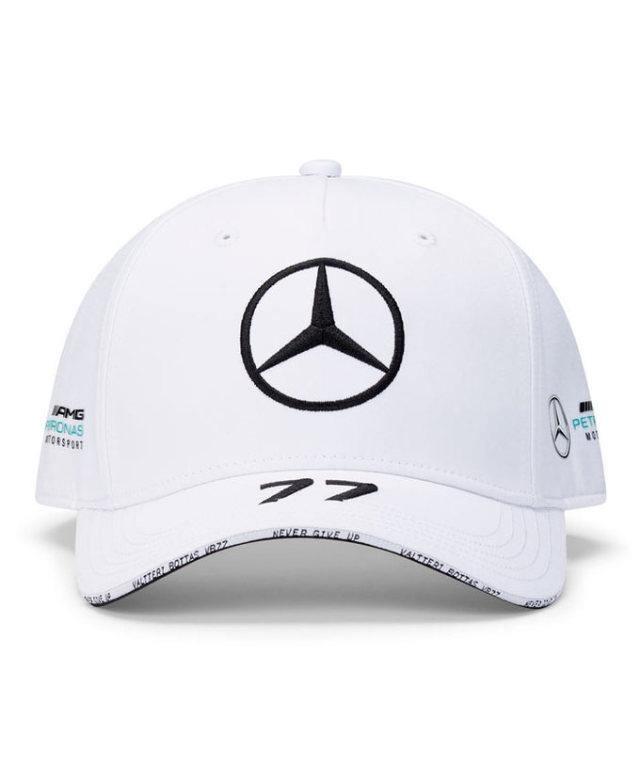 2020 MERCEDES メルセデスF1 チーム V.ボッタス ドライバーズキャップ(ベースボール)ホワイト