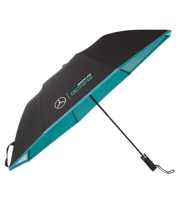 2017 メルセデスベンツAMGペトロナスF1チーム コンパクトアンブレラ(折りたたみ傘)