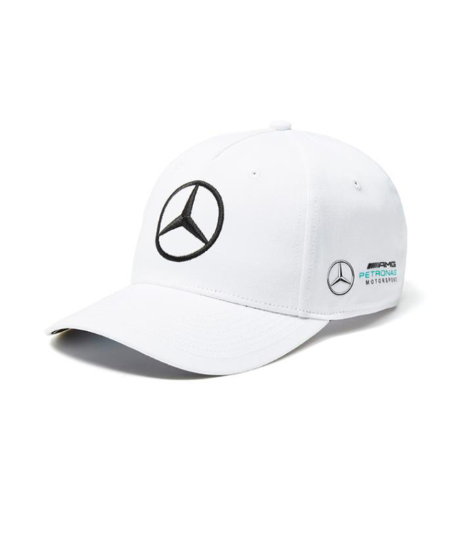 2018SS メルセデスベンツAMGペトロナスF1 チームキャップ ホワイト
