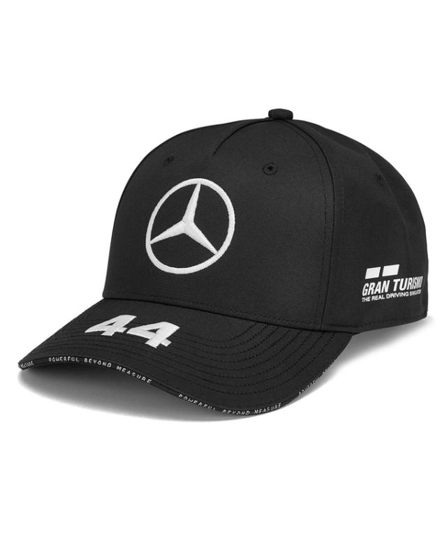 MERCEDES 2019 メルセデスベンツAMGペトロナスF1 L.ハミルトン ドライバーズベースボールキャップ ブラック