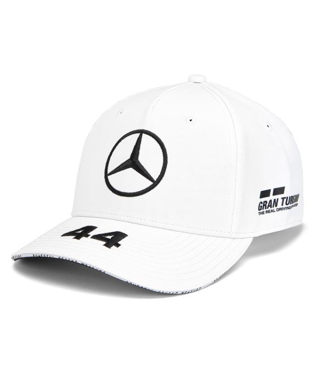MERCEDES 2019 メルセデスベンツAMGペトロナスF1 L.ハミルトン ドライバーズベースボールキャップ ホワイト