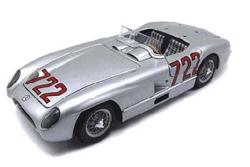 1/24 メルセデスボックス  300 SLR 1955年 ミッレミリア NO.722