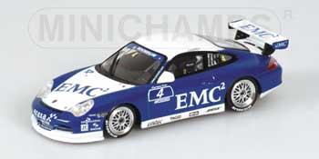 1/43 ポルシェ911 2004年 GT3カップ EMC NO.4  3528台限定