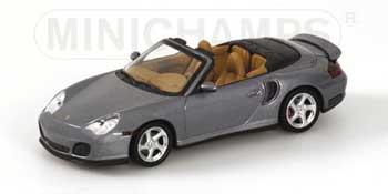 1/43 ポルシェ911ターボ カブリオレ 2003年 グレーメタリック 3216台限定