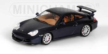 1/43 ポルシェ911 GT3 2003年 ブルー 5616台限定