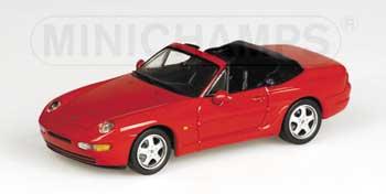1/43 ポルシェ968 カブリオレ 1994年 レッド 4032台限定