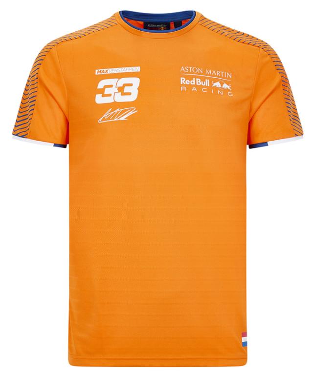 2020 REDBULL RACING レッドブル・ホンダ M.フェルスタッペン パーソナルTシャツ オレンジ 2020Ver