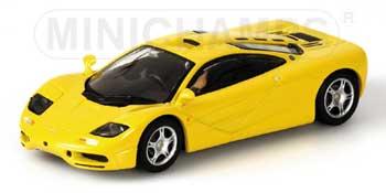 1/43 マクラーレンF1 GTR ロードカー イエロー