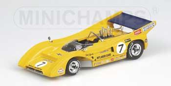 1/43 マクラーレンカンナムカー M8F カンナム1971 NO.7 ピーター レブソン 限定4444台