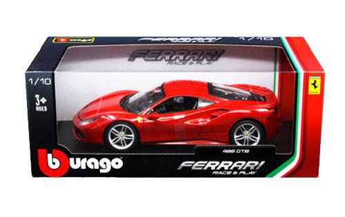 ブラーゴ 1/18 フェラーリ488 GTB レッド