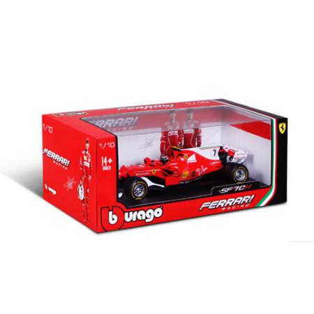 ブラーゴ 1/18 フェラーリ SF70H  K.ライコネン 2017 No.7