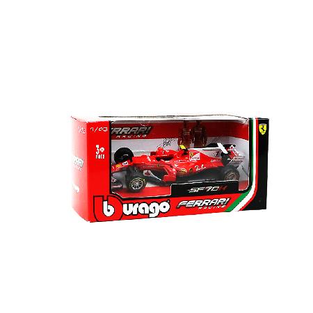 ブラーゴ 1/43 フェラーリ SF70H  K.ライコネン 2017年 No.7