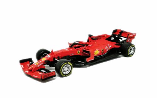 【再入荷】BURAGO(ブラーゴ)1/43 フェラーリ SF90 C.ルクレール(ドライバーフィギュア無)No.16 2019