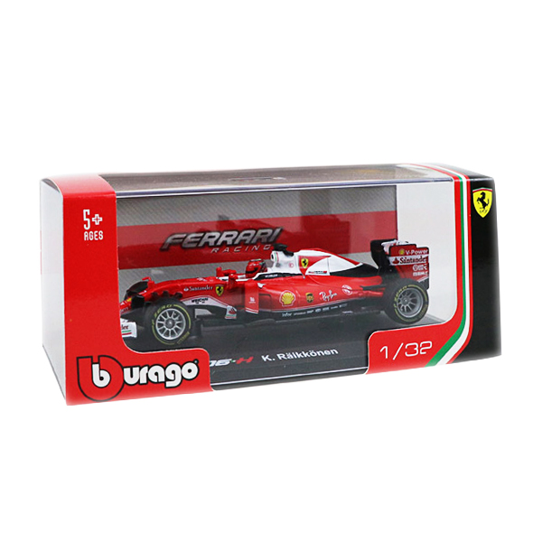 ブラーゴ 1/32 フェラーリ SF16-H K.ライコネン 2016