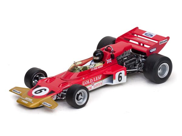 Quartzo/カルツォ 1/18  ロータス 72C ヨッヘン・リント 1970年オーストリアGP No.6