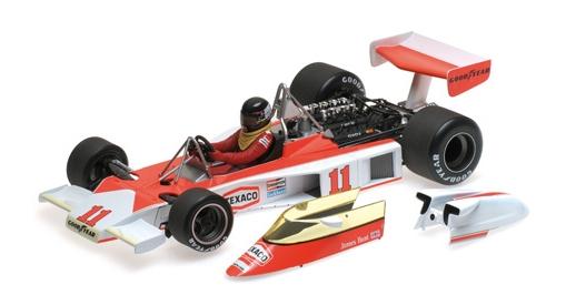 ミニチャンプス 1/18 マクラーレン フォード M23 J.ハント ワールドチャンピオン 1976年