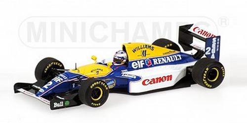 ミニチャンプス 1/18 ウィリアムズ ルノー FW15 A.プロスト 1993 ワールドチャンピオン