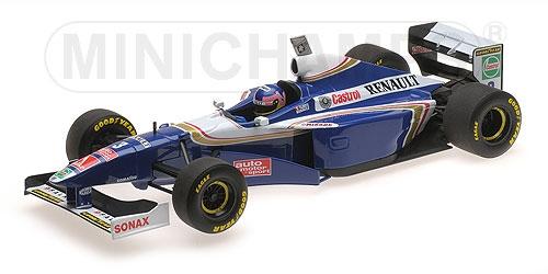 ミニチャンプス 1/18 ウィリアムズ FW19 J.ビルニューブ 1997年ワールドチャンピオン