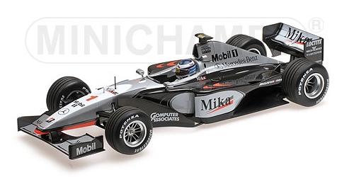 【サマーSALE】ミニチャンプス 1/18 マクラーレン メルセデス MP4/14 M.ハッキネン ワールドチャンピオン 1999年