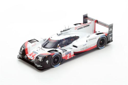 スパーク 1/18 ポルシェ 919 Hybrid No.2 2017年ルマン24時間レース優勝 Porsche LMP1 Team T.Bernhard-E.Bamber-B.Hartley