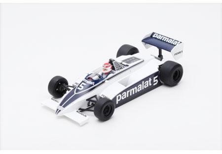 スパーク 1/18 ブラバム BT49C N.ピケ 1981年アルゼンチンGP優勝 ワールドチャンピオン No.5
